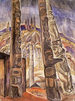 Vancouver Art Gallery. Check out the fantastic collection at the Vancouver Art Gallery including this famous piece done by Emily Carr. Click through to access their website for times and admission fees.