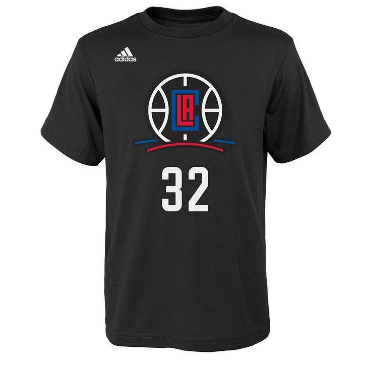 Boys 8-20 Adidas Los Angeles Clippers Blake Griffin Tee, Size: Xl(18/20), Ovrfl Oth