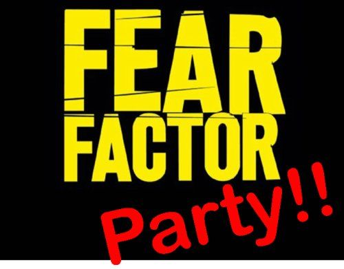 Fear factor party!! This website has THE BEST teen/tween party ideas I have EVER seen. Thinking of doing this!! Could be fun..