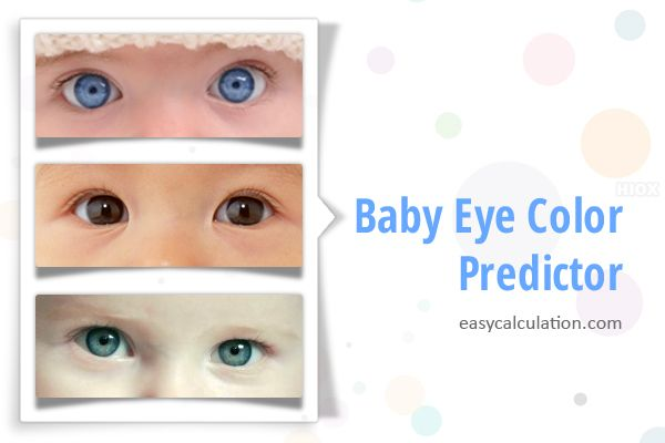 Know about different eye colors and predict your children's eye colors