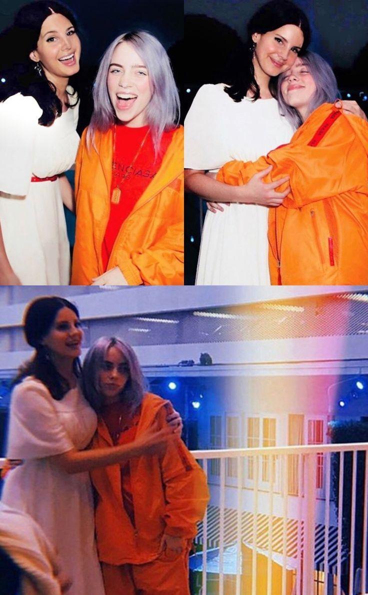 April 23, 2018: Lana Del Rey and Billie Eilish at the 2018 ASCAP Awards