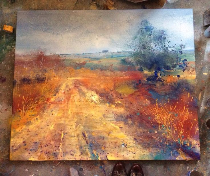 In progress - Lorna Holdcroft - beautiful!