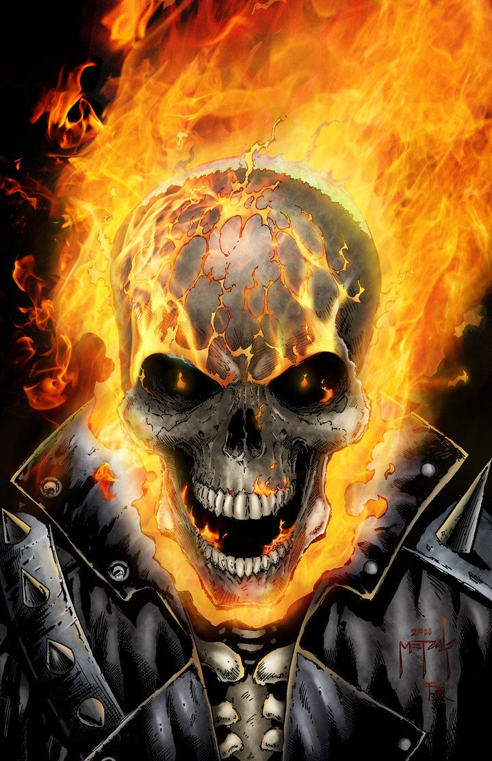 Ghostrider - by Jason Metcalf and Todd Rayner by JasonMetcalf
