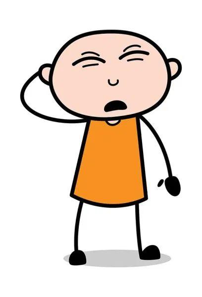 Feeling  Guilty - Cartoon thief criminal Guy Clip-art : TheToonCompany
