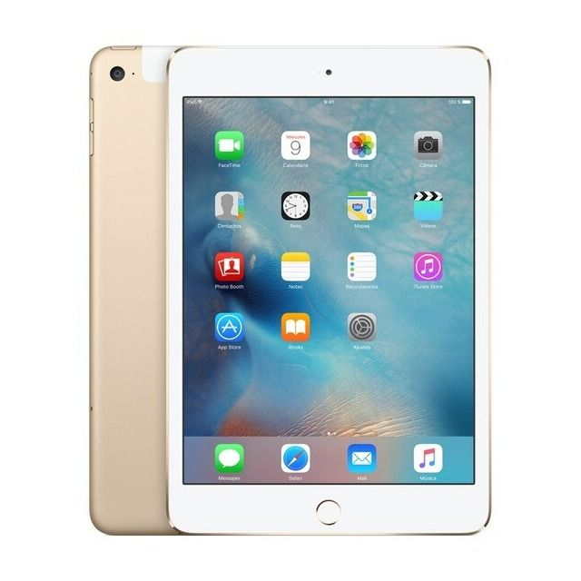Apple Ipad Mini 4 Wi Fi Cell 128 Gb Oro Reacondicionado Gardo A En 2020 Ipad Mini Fundas Para Ipad Mini Accesorios Para Ipad