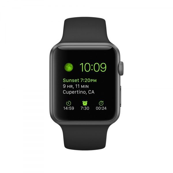 Apple Watch Series 1 Sport 42mm Prix et Fiche Technique