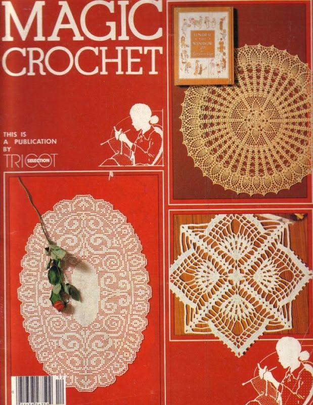 Magic Crochet Nº 12 - Edivana - Álbuns da web do Picasa...FREE MAGAZINE!!