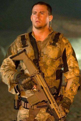 Hot men in uniform: Channing Tatum