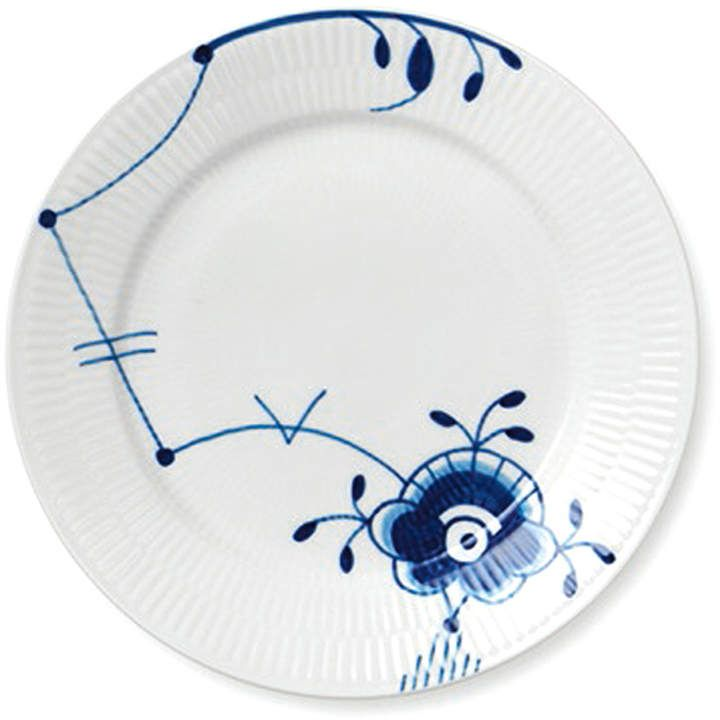 industry blue fluted plates - 720×720