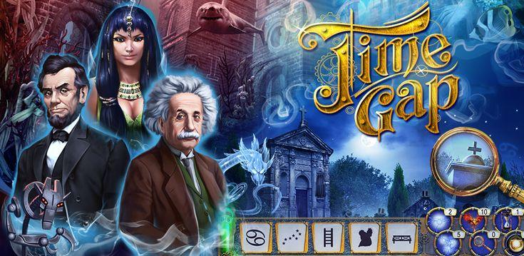 """*** The best hidden object game of 2014! *** Самая увлекательная игра в жанре """"поиск предметов""""! Наслаждайтесь множеством загадок, уникальными игровыми элементами, таинственными персонажами и тщательно спрятанными предметами!  https://itunes.apple.com/us/app/time-gap-hidden-object-mystery/id661173158?l=ru&ls=1&mt=8"""