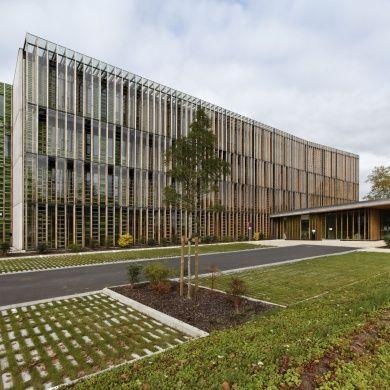 Office 64 de l\'Habitat: Location: South West France  Designer: Arotcharen Architectes Area: 3494 m2 Project Year: October 2011