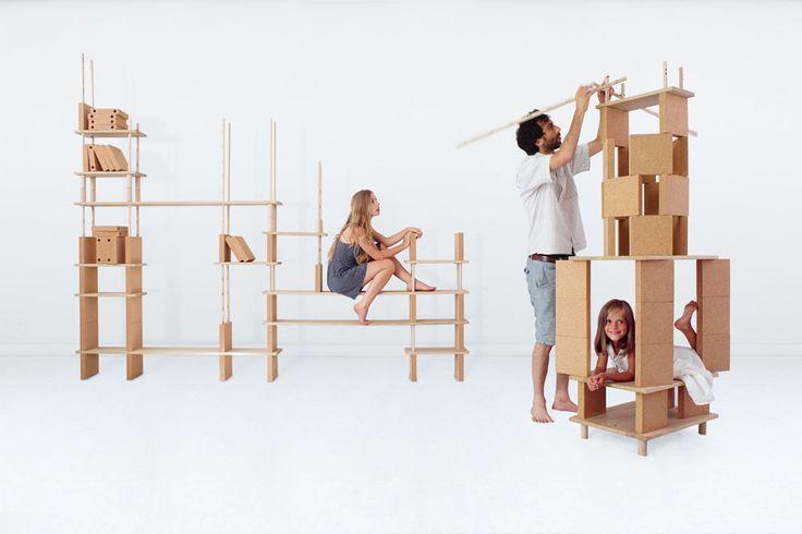 Jeu de construction fonctionnel | MilK decoration