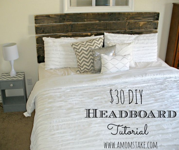 $30 DIY Headboard Tutorial