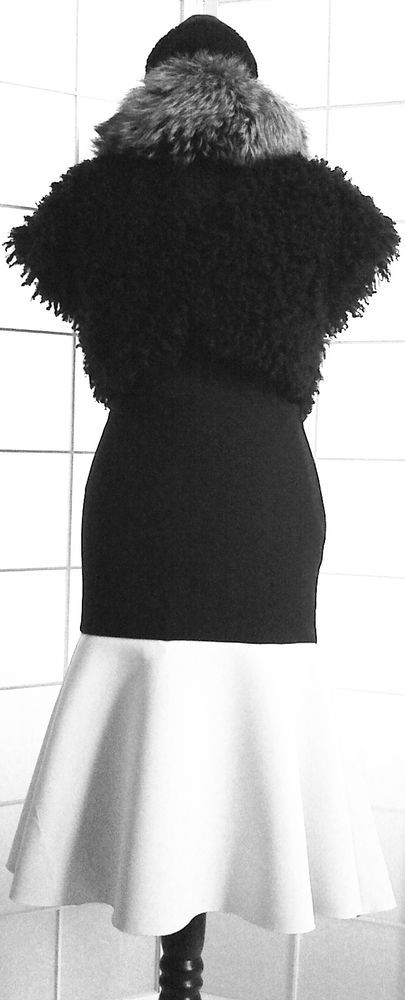 DAMEN-ROCK, schwarz-weiß, Größe 36 in Kleidung & Accessoires, Damenmode, Röcke   eBay