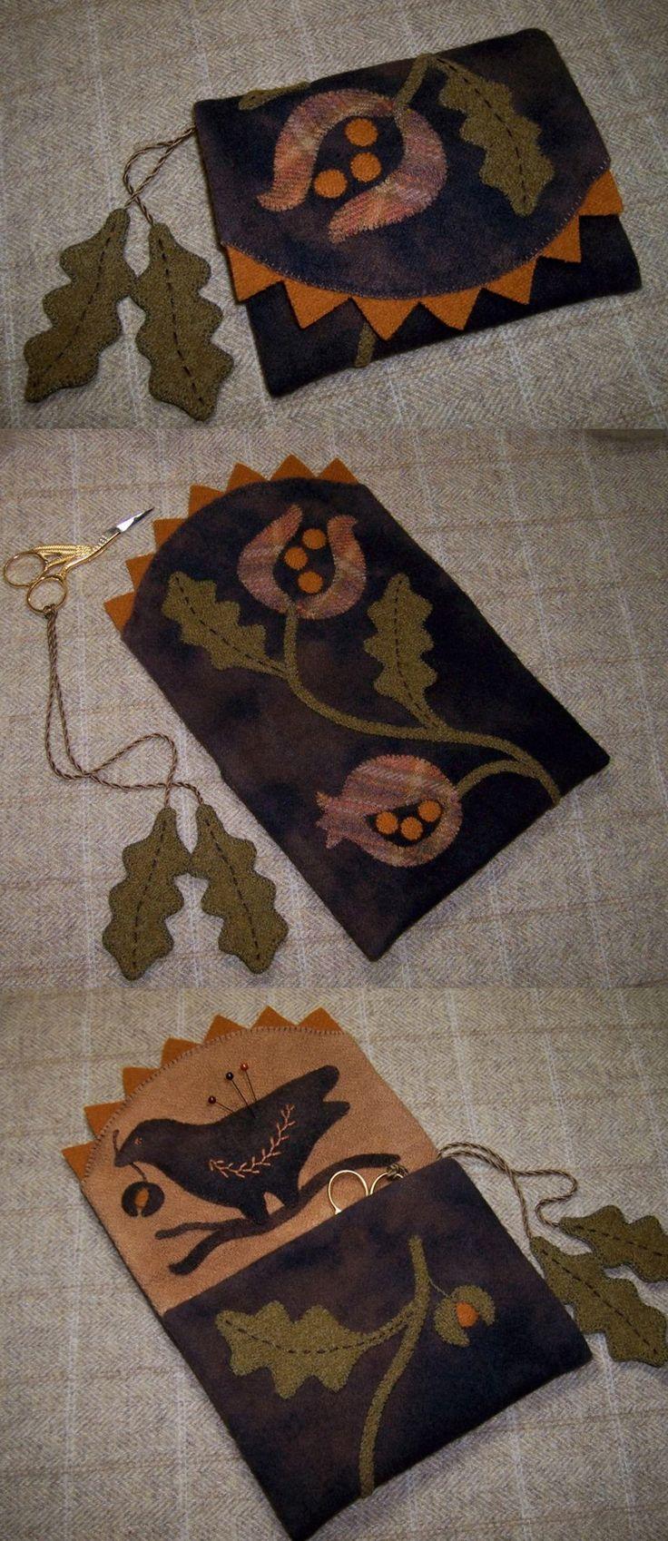 Very sweet Scissor & Needle case & love the little Scissor Fob too!