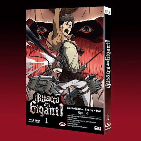 Comic-Soon: L'ATTACCO DEI GIGANTI, L'EDIZIONE IN ITALIANO IN D...