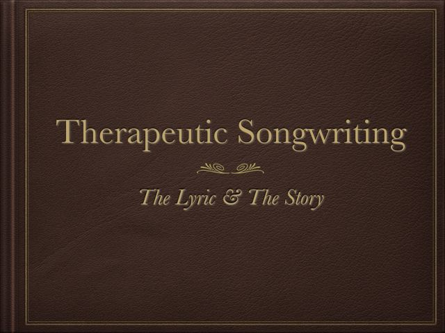 Music Therapy information....Grand Rounds St. Louis University Cancer Center Therapeutic Songwriting