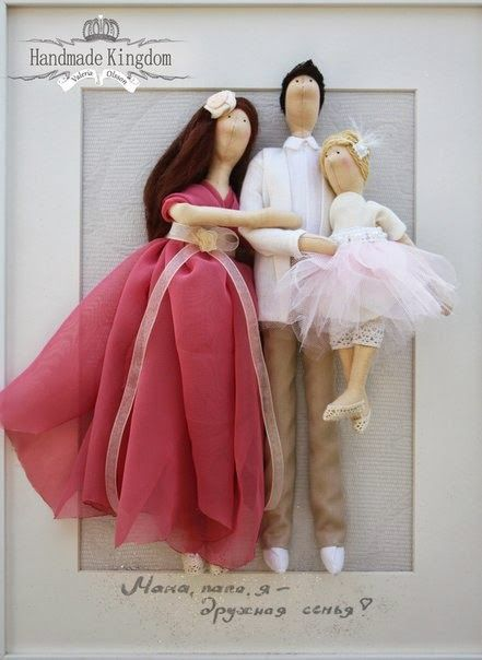 Mimin Dolls: Familia, tilda family