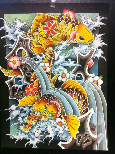 Tyler Triumph Tattoo Reno Koi