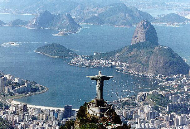 """Rio"" ..Brazil.....Great, beautiful place to visit...but probably wouldn't go back."