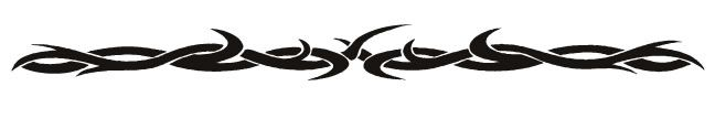 TRIBAL DESIGN No. 5 Arm Band Temporary Tattoo 1.5x9 | Body Candy Body Jewelry