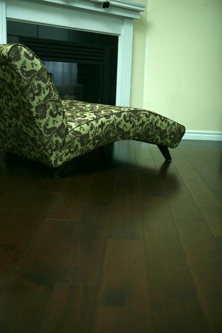 Hickory- Hardwood Flooring- Logs End
