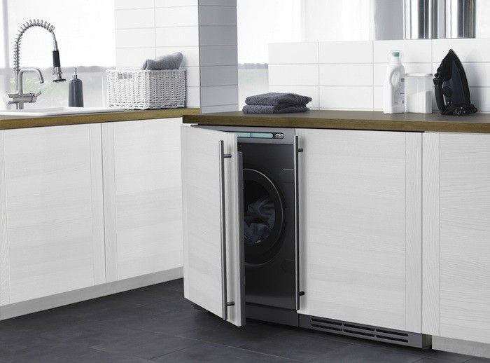 Fancy   Fully Integrated Front Load Washer By Asko Part 66