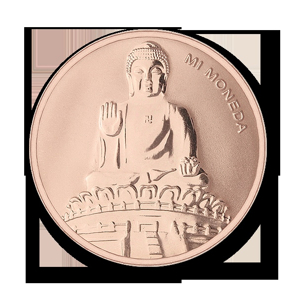 Mi Moneda Buddha & Buddha - Happiness & Prosperity for human and nature on http://bannonjewellers.ie/index.php?route=product/product&path=365000&product_id=3650013