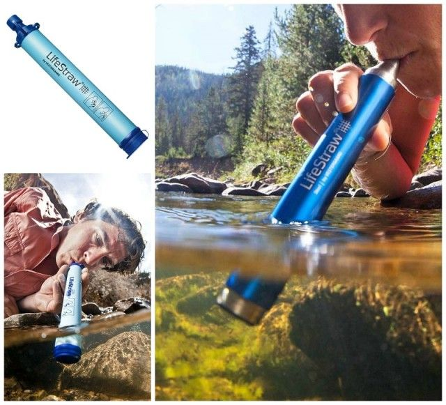Life Water Straw: Now you can drink clean water anywhere!
