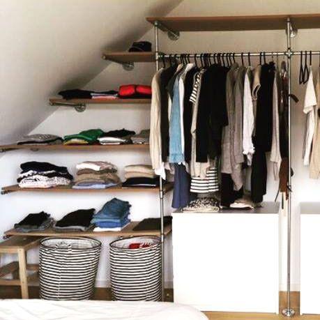Die besten 25+ Offener kleiderschrank Ideen auf Pinterest - begehbarer kleiderschrank modular system