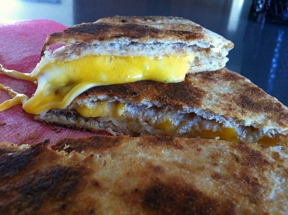 Divine Grilled Cheese Naan Recipe
