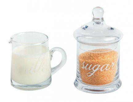 Pojemniki na mleko i cukier śr. 8,5 cm x 13 cm MAISON THE TEA