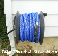 This, That And A Little More: Our New Rapid Reel Hose Reel And Garden