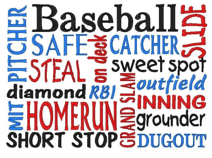 Baseball Subway Art-