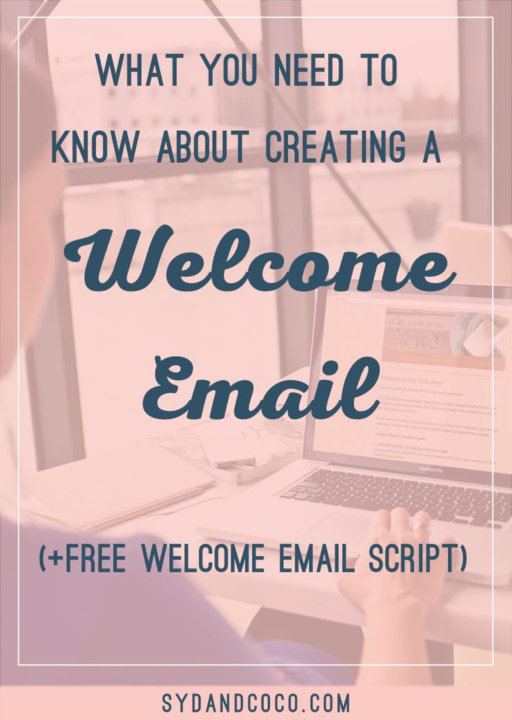 In this blog post, I'm going to show you the step-by-step guide for getting started with email marketing and how to create your welcome email. Click to read the blog post about email marketing and free welcome email script.  sydandcoco-creating-welcome-emails-with-mailchimp1