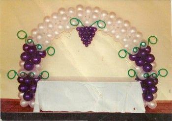 Decorando un evento con globos