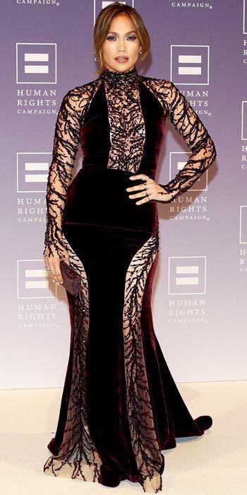 Jennifer Lopez in Zuhair Murad