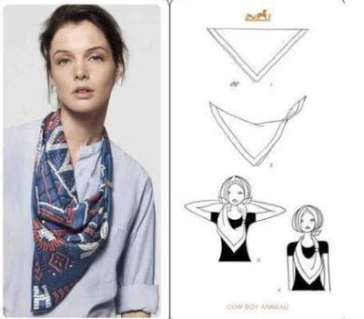Areti's Place: HowTo: Τι μπορείς να κάνεις μόνο με ένα μαντήλι! ΦΟΒΕΡΟ!