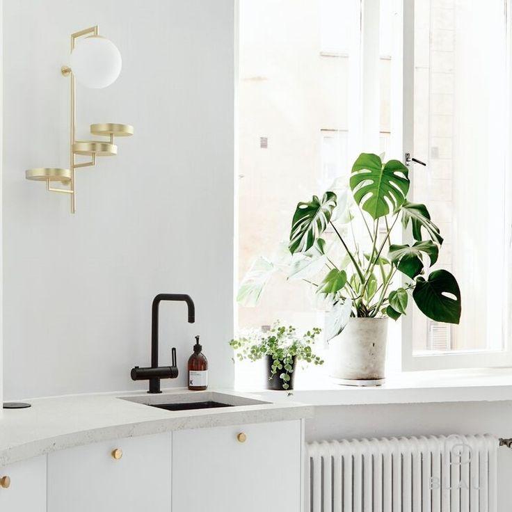 Aamulla on ihana tassuttaa keittiöön kahvinkeittoon kun siellä on aamuaurinko vastassa.