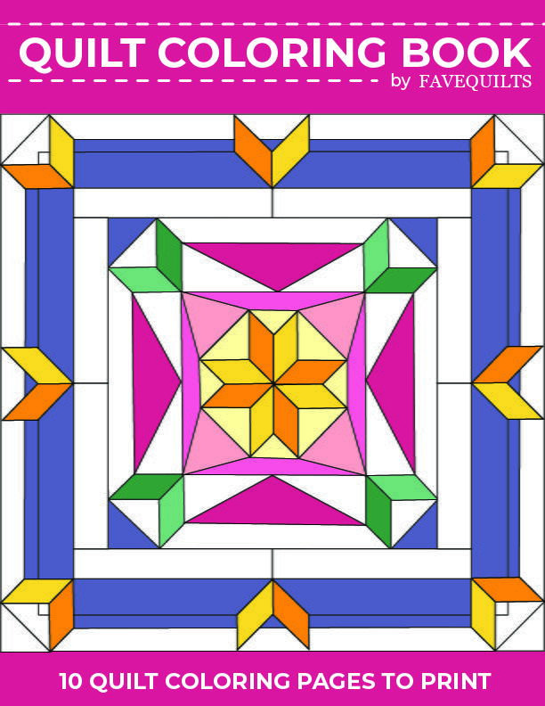 Quilt Coloring Book 10 Quilt Coloring Pages To Print Pattern Coloring Pages Coloring Pages Coloring Books