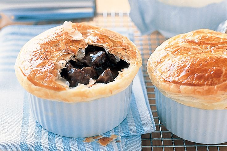 Find out why Irish eyes are smiling with these delicious and hearty beef and Guiness pies.
