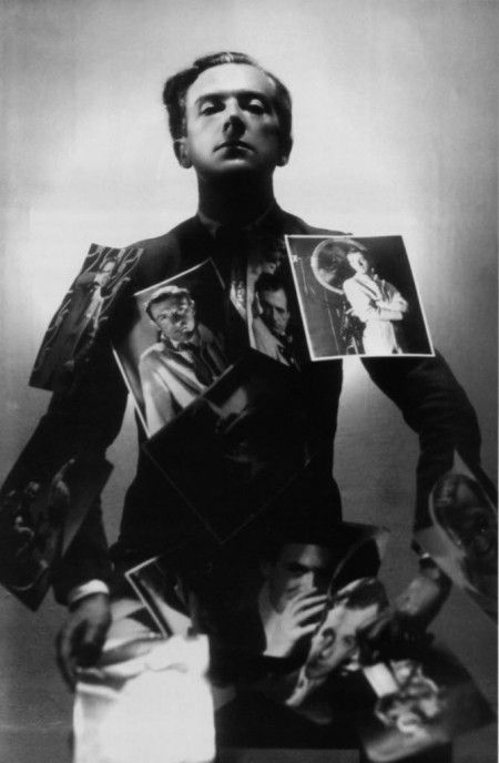 Self-portrait, 1930 - Cecil Beaton (1904-1980) an English fashion, portrait and war photographer; a diarist, painter, interior designer and an Academy Award-winning stage and costume designer