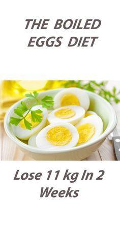 THE BOILED EGGS DIET: Lose 11 kg In 2 Weeks!