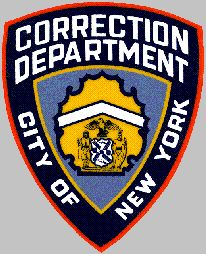 New York Department of Corrections shoulder patch. #LeatherCop #LeatherUS