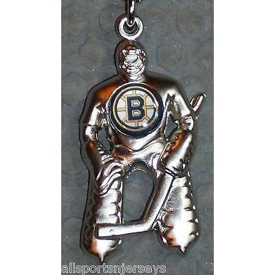 NHL Boston Bruins Hockey Player Key Chain Logo on Chest CONCORD Ind.