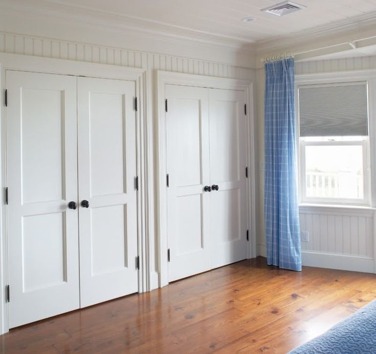 2-PFP Shaker - Gorgeous closet doors - much better than bifold...
