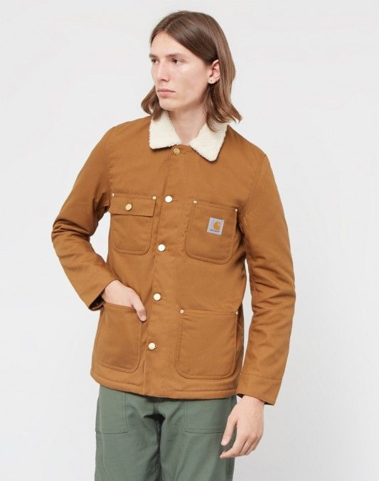 Carhartt WIP Phoenix Coat Tan. Available at The Idle Man #StyleMadeEasy