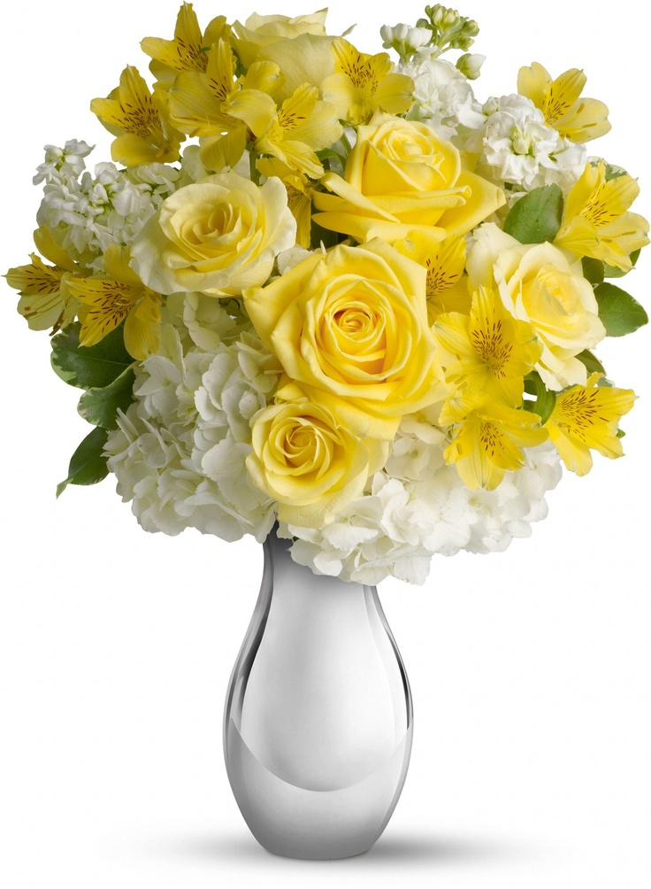 White And Yellow Flowers Bouquet 17 Best images ...