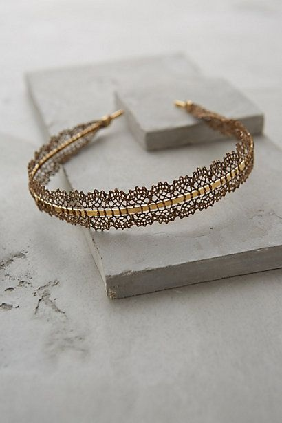 Lace Filigree Headband - anthropologie.com #anthroregistry