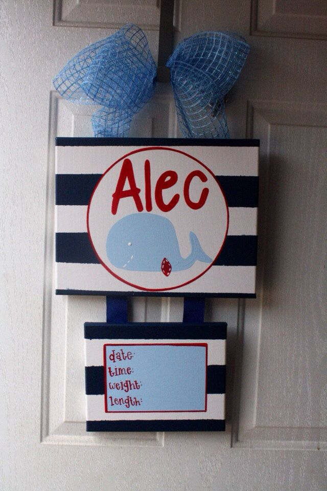 baby hospital door decorations Baby Hospital by DoodlesbyTrista, $40.00
